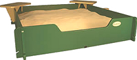 silica free sand for sandboxes