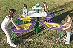 silica free sand play table